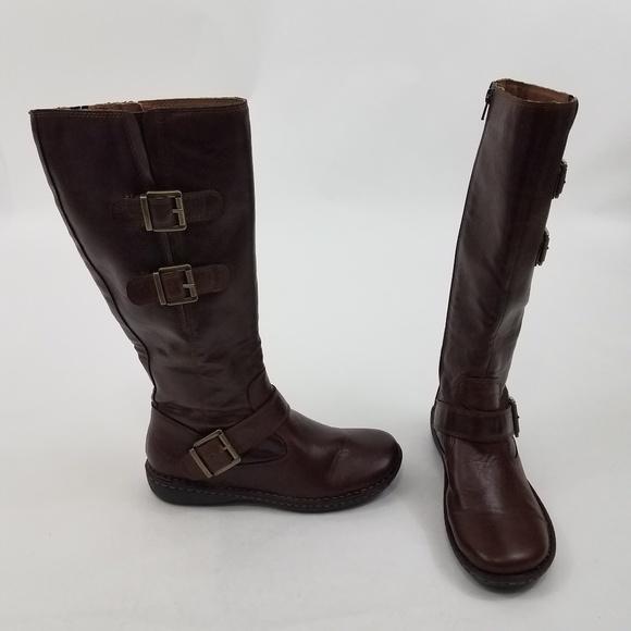 b0d6fd23bb21 boc Shoes - Boc Born Concepts Boots 9.5 M Buckle Gold Brown